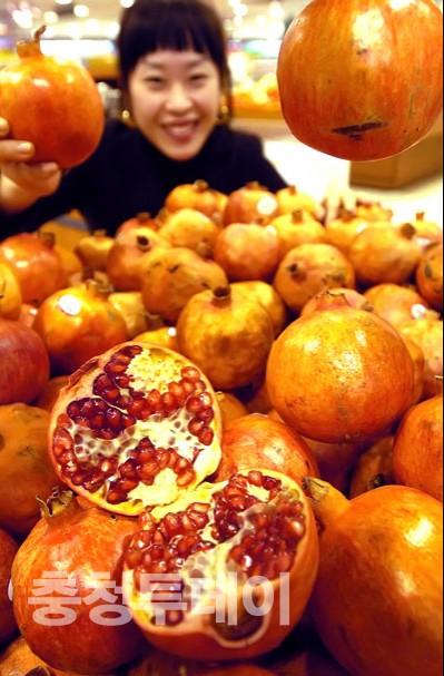 미녀는 석류를 좋아해