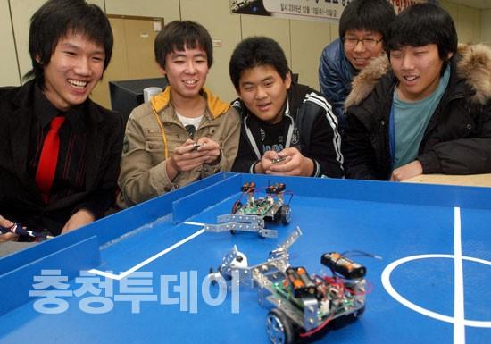 로봇축구 경기