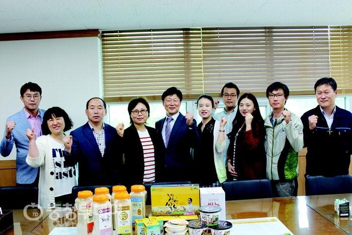 번쩍이는 아이디어로 공동 마케팅 … 청원생명쌀 위세 드높인다