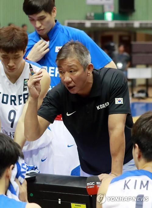 ▲ 농구대표팀 허재 감독