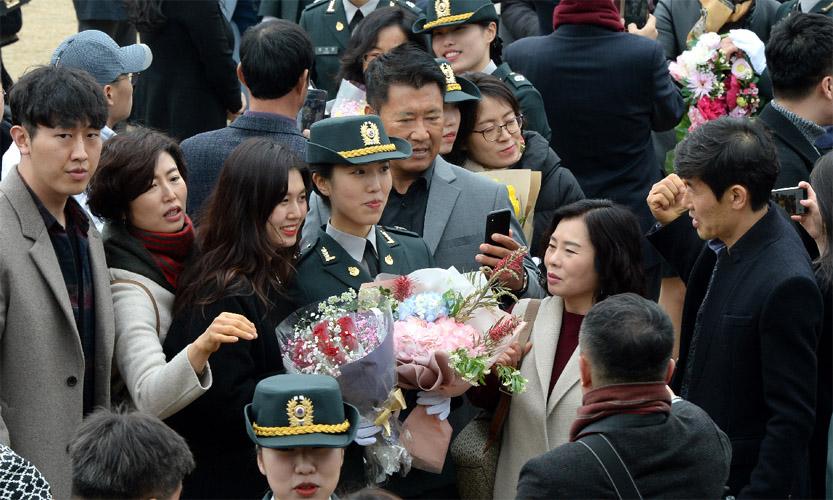 국군간호사관학교 졸업식