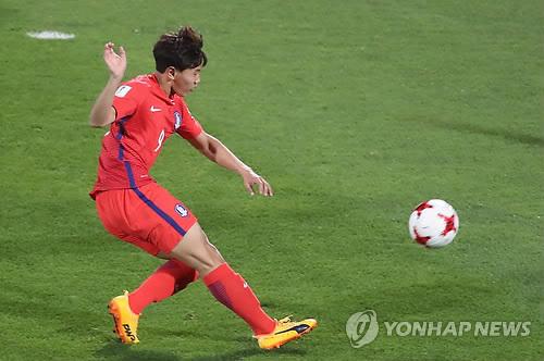 ▲ 한국 U-19 축구대표팀의 공격수 조영욱(서울).[연합뉴스 자료사진]