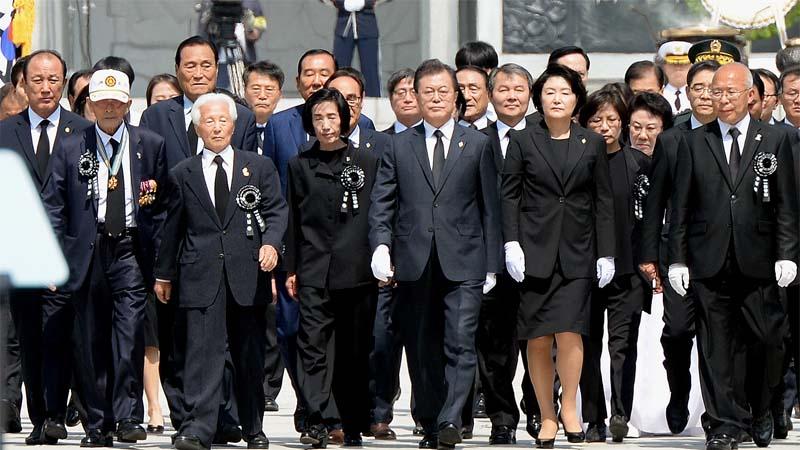 분권 의지? 지방선거 의식?…현충일 추념식 19년만에 대전현충원에서 열린 이유는