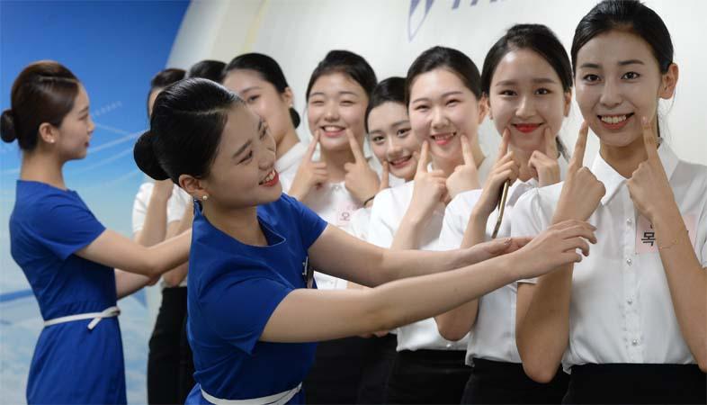 배재대 '제5회 예비승무원 대회'…학과 소개·메이크업 준비·모의면접 등 진행