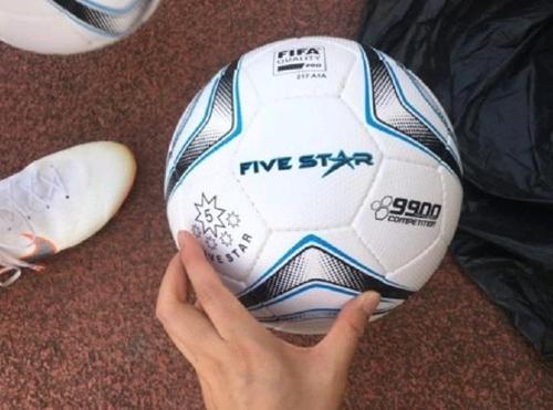 ▲ 2018 자카르타·팔렘방 아시안게임 여자축구 공인구.[대한축구협회 제공]