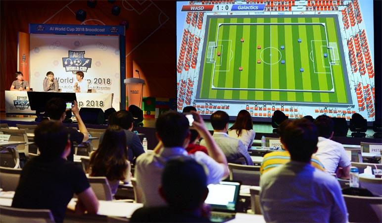 세계 첫 AI 월드컵 대전서 개막