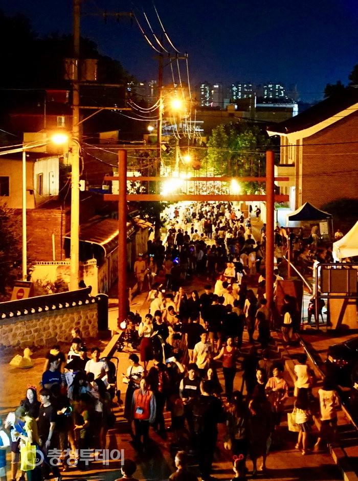 가을문턱…청주는 '축제의 계절' 문화재야행 행사 성료