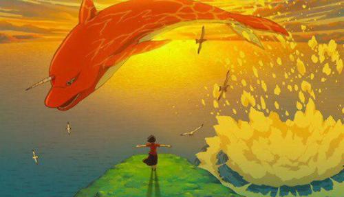 ▲ 애니메이션 '나의 붉은 고래'의 한 장면. [울주세계산악영화제 제공]