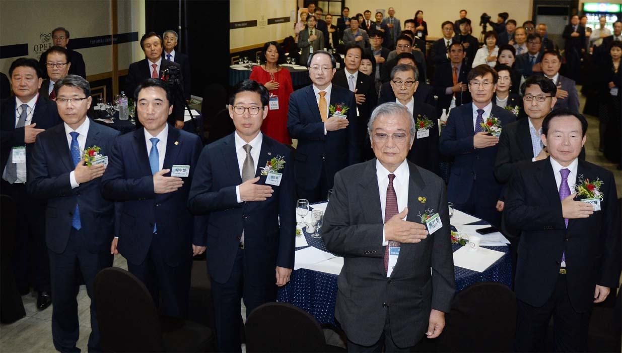 세계충청향우회 대표자들 뭉쳤다…제1회 대표자 대회 대전서 개최
