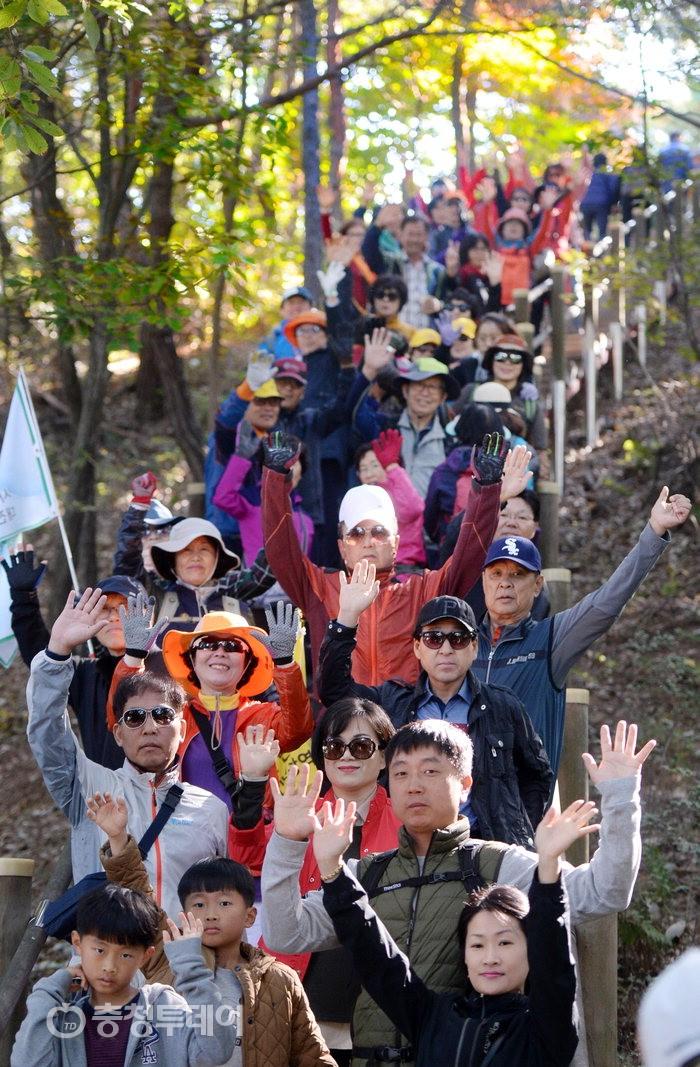 [구민건강 걷기축제] 대전 도솔산, 오솔길의 행복