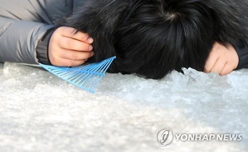 ▲ 산천어축제 낚시[연합뉴스 자료사진]
