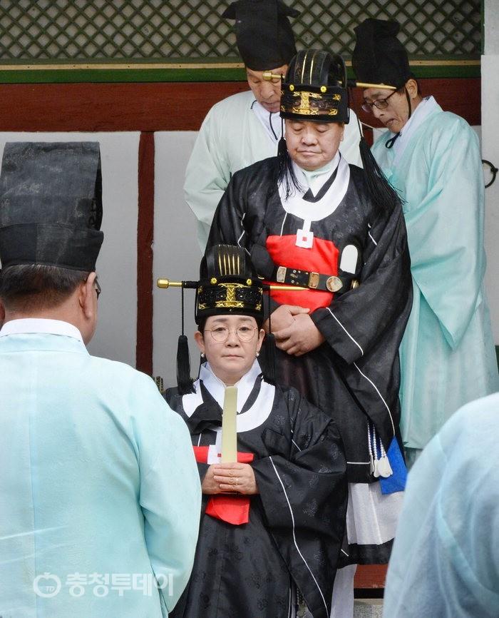 회덕향교 춘기석전대제…'초헌관' 대덕구청장