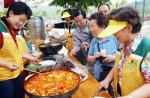 장수마을 독거노인돕기 바자회