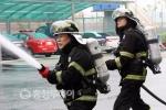 최고 소방관 '불꽃훈련'