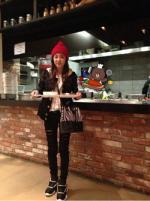 """산다라박 YG 식당, 식판들고 미모 뽐내 """"메뉴는 뭘까?"""""""