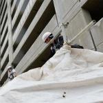 돈갖고 잠적한 건설사 직원때문에 죽동지구 B아파트 공사 중단