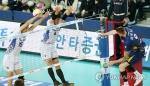 '우승 후보' 대한항공, 한국전력 완파…개막 2연승