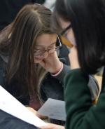 """[르포] 성적표 배부날 고3 교실 """"생각보다 2등급 떨어졌어요"""""""