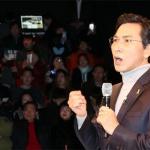 '파격' 보여준 안희정 대선출정식