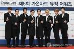 엑소, '가온차트 어워즈' 4관왕…블랙핑크도 3관왕