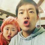 """홍윤화·김민기 다정 커플 인증샷 공개 """"표정도 똑같아"""""""