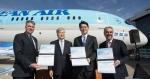 대한항공 보잉 787-9 항공기 인수
