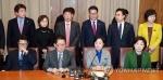 野4당 '4+4 회동' 시작…특검연장·'黃권한대행 탄핵' 논의