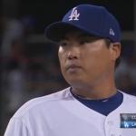 류현진 6이닝 4실점…홈런 3개 내주며 패전 위기