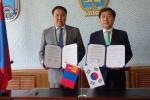 논산시-몽골 지방정부 우호교류 협정