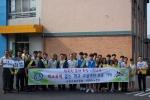 서천교육지원청 등굣길 학교폭력·자살예방 캠페인