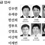 대전시 국·과장급 인사