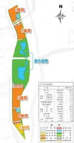 도안호수공원 1·2 블록 민간개발 지역건설업체 도전 주목