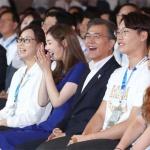 """문재인 대통령 """"평창올림픽, 국민 '치유 올림픽'으로"""""""