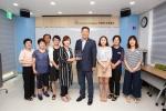 구본환 대전시 유성구의원 지역도서관 발전유공 감사패