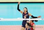고비마다 김연경…한국, 필리핀 꺾고 8강라운드 첫 승