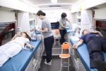 대전대 천안한방병원 적십자사혈액원 버스 헌혈 캠페인