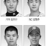 청주 세광고 야구부 프로선수 4명 배출…KBO 사상첫 1라운드 3명 지명