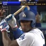 푸이그 포스트시즌 첫 홈런…LA 다저스, 내셔널리그 챔피언전 1차전 승리