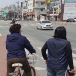 청주시 흥덕구, 보이지 않는 차선…교통사고 위험 노출