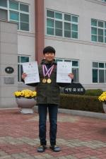 진천상산초 박상진 전국수영대회 2관왕