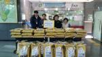 한전 충북지역본부 연말 소외계층 위한 위문품 기탁