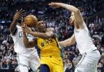 NBA '주춤' 보스턴, 유타에 또 일격…2위에 두경기차 쫓겨