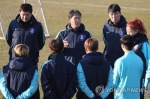 윤덕여호, E-1 챔피언십 끝내고 귀국…내년 2월 재소집