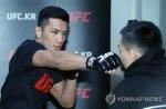 UFC 강경호, 3년 4개월만의 복귀전에서 1R 서브미션승