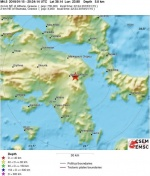 그리스서 규모 4.5 지진…아테네도 '흔들'