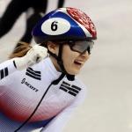 [올림픽] 최민정, 여자 쇼트트랙 1,500m 금빛질주…김아랑 4위