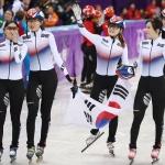 [올림픽] 태극낭자, 女쇼트트랙 3,000m 계주 2연패…최민정 2관왕