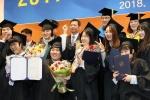 우석대 진천캠퍼스 '첫 졸업식'…학사 92명 학위수여식 거행