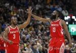 NBA 휴스턴 13연승…서부콘퍼런스 선두 질주 '한 달간 무패'