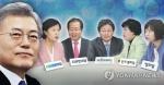 문 대통령·여야 대표 靑서 오찬회동…초당적 안보협력 논의